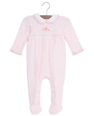 Striped cotton sleepsuit MAGNOLIA BABY