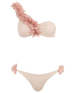 Geblümter Bikini Rasha One Shoulder LA REVECHE