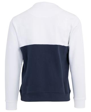 Sweat-shirt bicolore brodé Colorblocked Tiger KENZO