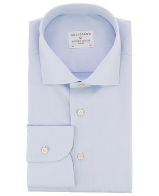 Rodi lightweight cotton twill shirt ARTIGIANO