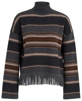Amico fringed striped jumper WEEKEND MAXMARA