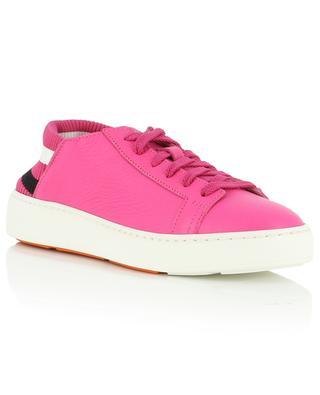 Sneakers aus Leder mit Sockendetail Whippy Summer SANTONI