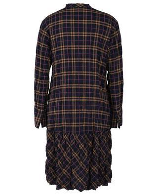 Robe chemise trapèze à carreaux Clementine LIS LAREIDA