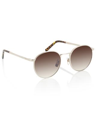 The Voyager round metal sunglasses VIU