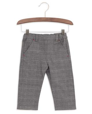 Checked cotton trousers TARTINE ET CHOCOLAT