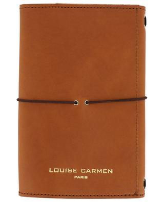 Smooth leather pocket organizer LOUISE CARMEN PARIS