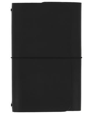 Carnets de note Road Book en cuir noir LOUISE CARMEN PARIS