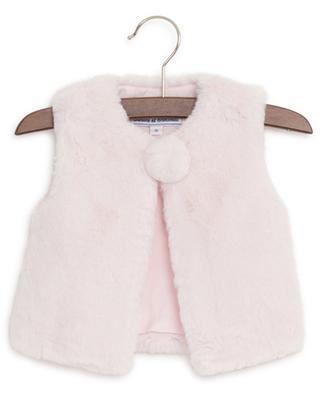 Dimanche En Famille faux fur vest TARTINE ET CHOCOLAT