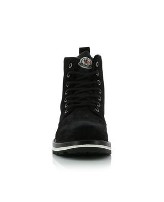 New Vancouver suede lace-up ankle boots MONCLER