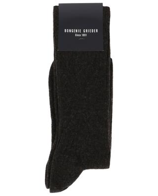 Short rib knit cashmere blend socks BLASIUS MARX