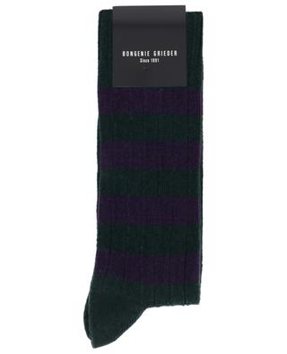 Striped cashmere blend socks BLASIUS MARX