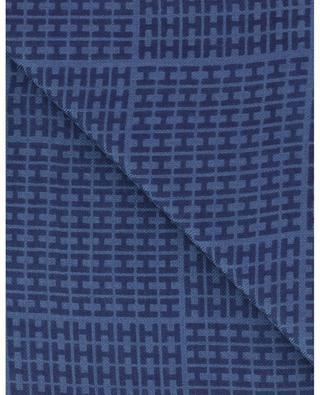 Écharpe monogrammée en cachemire et soie Sett-BCS HEMISPHERE