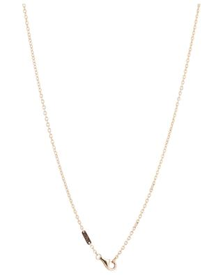 8°0 Medium pink gold and diamonds necklace FRED PARIS