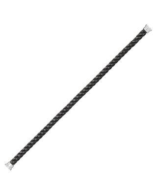 Large Force 10 steel cable bracelet FRED PARIS