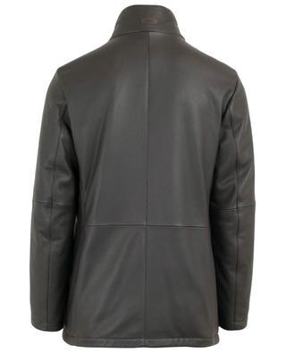 Manteau en cuir de cerf GIMO'S