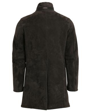 Suede and shearling coat GIMO'S
