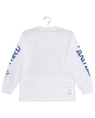 Lucas printed and embroidered long-sleeved T-shirt DIESEL