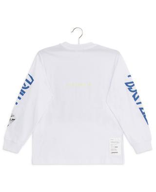 Langarm-T-Shirt mit Prints und Stickereien Lucas DIESEL