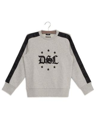 Bay DSL distressed embroidered sweatshirt DIESEL