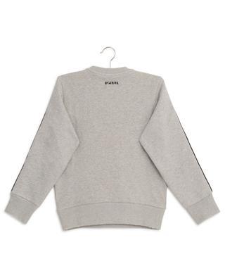 Used-Look-Sweatshirt mit Stickerei DSL Bay DIESEL