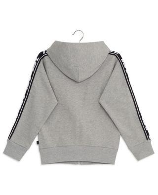 Suitax knit detail sweat jacket with hood DIESEL