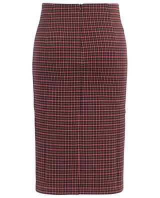 Caravan fitted pencil skirt with houndstooth check WEEKEND MAXMARA