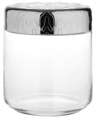 Pot hermétique en verre et acier Dressed 75 cl ALESSI