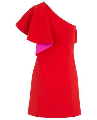 Ruffled short crepe dress BARBARA BUI