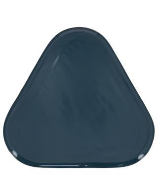 Dreieckiges Tablett aus Metall KLEVERING
