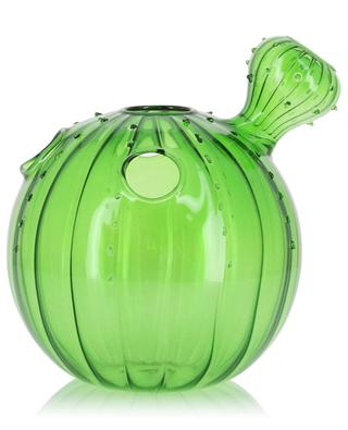 Cactus-shaped glass vase KLEVERING