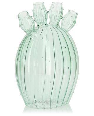 Cactus-shaped glass vase KLEVERING