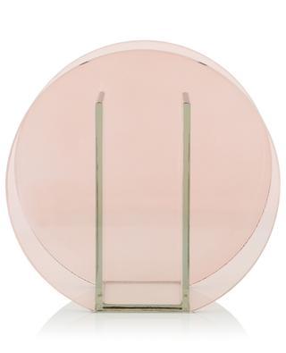 Vase cercle en verre KLEVERING