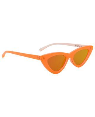 The Last Lolita neon orange sunglasses LE SPECS