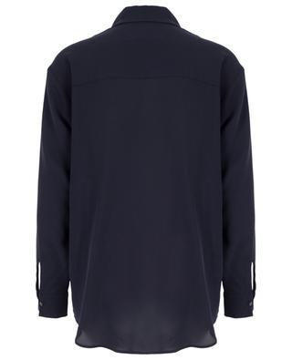 Elif crêpe de Chine silk shirt ARTIGIANO