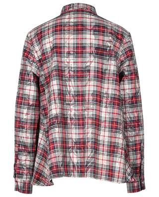 Chemise oversize à carreaux en coton mélangé ARTIGIANO