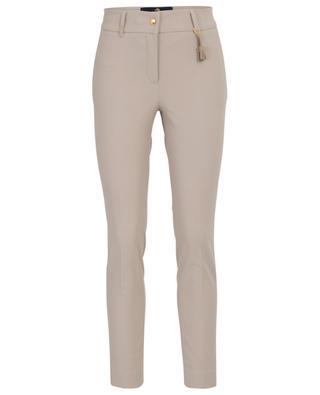 Pantalon slim raccourci en gabardine stretch Ostia PAMELA HENSON