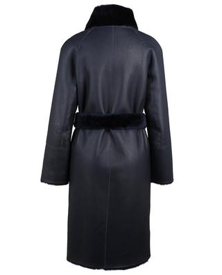 Shearling coat with removable belt SUPREMA