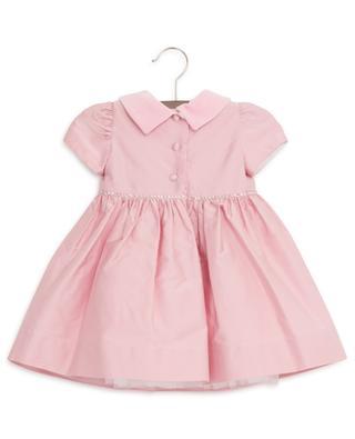 Festliches Babykleid mit Rose und Kristallen MONNALISA