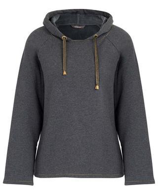 Sweatshirt aus weichem Baumwollvlies PRINCESS