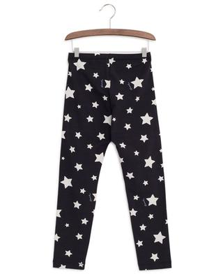 Stars print cotton leggings MONNALISA