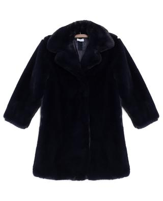 Thick faux fur coat MONNALISA
