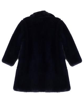 Manteau épais en fourrure synthétique MONNALISA