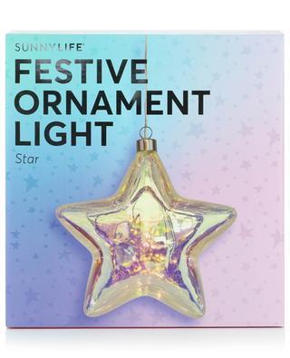 Étoile lumineuse Festive Ornament Light Star SUNNYLIFE