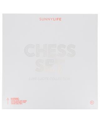Schachspiel Lucite SUNNYLIFE