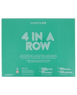 Vier Gewinnt 4 Lucite Four in a Row Super Fly SUNNYLIFE