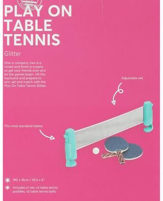 Tischtennis-Set Play On Table Tennis Glitter SUNNYLIFE