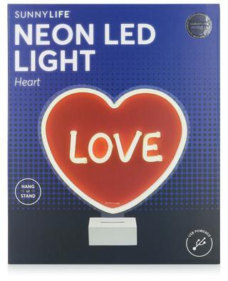 Herz-USB-Lampe Neon LED Light Heart SUNNYLIFE