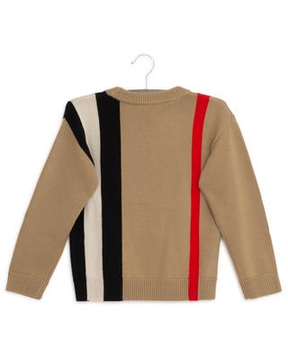Pullover aus Wolle mit Logo Rolfe BURBERRY