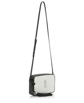 Tasche aus Leder und Leinen Lou Camera SAINT LAURENT PARIS