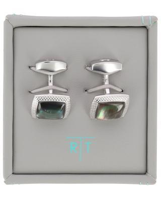 Moonlight Quadrato cufflinks with quartz TATEOSSIAN